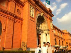 The Egyptian Museum | المتحف المصري in Tahrir Square, Cairo