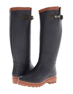 Aigle Aiglentine waterproof, faux fur-lined and rubber soled boot, $225, available at Zappos.