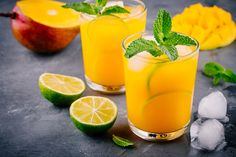 Mango Pina Colada / Skip excess sugar and make this tropical favorite with fresh fruit and coconut water. Rum Cocktail Recipes, Gin Recipes, Vodka Cocktails, Mojito, Whole30 Diet Recipes, Healthy Recipes, Lime Drinks, Avocado Salad Recipes, Recipes