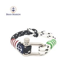 Bran Marion bracelets are the perfect casual accessory for the outdoorsy sporty types. Especially the water enthusiasts. Nautical Bracelet, Nautical Rope, Nautical Jewelry, Reef Knot, Marine Rope, Davy Jones, Handmade Bracelets, Blue Orange, Crystal Beads