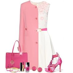 Shades of Pink and White (Outfit Only)