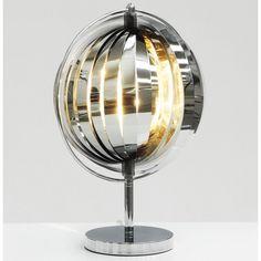 Meubelklik: Cora tafellamp chroom > Verlichting - bestel online bij www.meubelklik.be