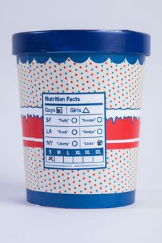 Jonny Cupcakes, Ice Cream - 25 Cool T-shirt Packaging Design Examples Craft Packaging, Cool Packaging, Food Packaging Design, Packaging Design Inspiration, T Shirt Packaging, Packaging Ideas, Clothing Packaging, Fashion Packaging, Ice Cream Packaging