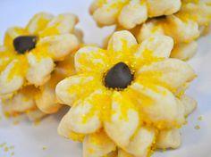 Sunflower Butter Cookies  6 dozen by sugarplusspice on Etsy, $23.50