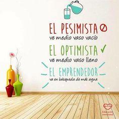 La #actitud lo es todo... #optimista #emprendedor #luchador #piensapositivo #persiguetussueños #fortaleza