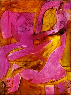 Willem de Kooning Pink Angel