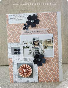 #papercraft #scrapbook #layout Keisha Campbell