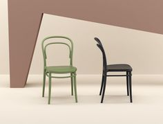 Marie stacking chair is produced with a single injection of polypropylene reinforced with glass fiber obtained by means of the latest generation of air moulding technology with neutral tones. For indoor and outdoor use. Stacking Chairs, Latest Generation, Classic Collection, Neutral Tones, Indoor, Moulding, Glass, Fiber, Technology