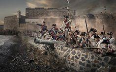 """El Tigre"""" Tenerife 25 de julio de 1797.El Cañón Tigre es una de las históricas armas defensivas más importantes de la historia de España. Esta pieza de artillería es mundialmente famosa por la épica jornada del 25 de julio de 1797 en la ciudad de Santa Cruz de Tenerife (Canarias, España). Ese día el almirante inglés Horatio Nelson se disponía a invadir la ciudad y el archipiélago, pero un cañonazo de esta pieza le arrancó un brazo y le hundió su flota."""
