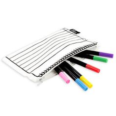 8 Pk Deluxe Permanent Marker Set in a case | Paper Products Online