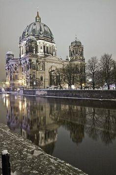 Night in Berlin, Germany