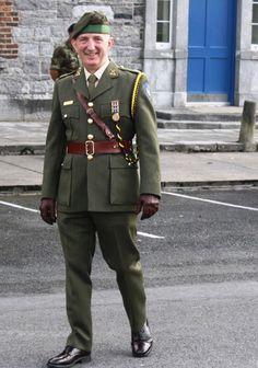 Irish Army reserve officers' service dress uniform.
