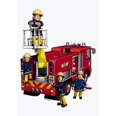 Fireman Sam 4 in 1 #Puzzle