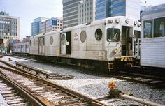 The distinctive car with its circular windows was bought from Nippon Sharyo, a Japanese train manufacturer, in the Retired Toronto Subway, Nyc Subway, Tokyo Rose, Underground Tube, Metro Rail, Toronto Ontario Canada, Rapid Transit, After Midnight, Physical Geography