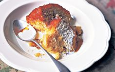 Clarissa Dickson Wright's steamed syrup pudding, a comforting classic.