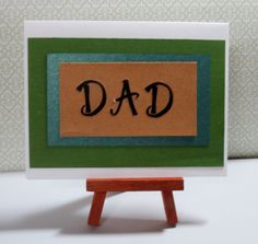 """Father's Day Card This card measures approximately 4.25"""" x 5.5"""" in size http://kinamileli.wix.com/pink-mermaid-"""