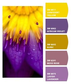Paint colors from Chip It! by Sherwin-Williams. Would love for these to be bathroom colors when I have my very own place (: