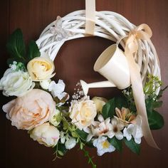 Mothers Day Wreath, Floral Wreath, Decor, Crowns, Floral Crown, Decoration, Decorating, Flower Crowns, Flower Band