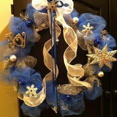 Blue Christmas DecorInspiration - Christmas Decorating -