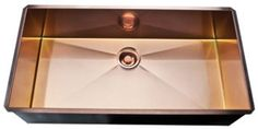 """$2800 37.5"""" stainless copper Rohl RSS3618 image-3"""