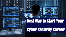 A Perfect Way to Start and Strengthen Your Cyber Security Career Computer Crime, Computer Science, Cyber Security Career, Cyber Security Training, News Website, Cyber Safety, Education, Motivation, Data Protection