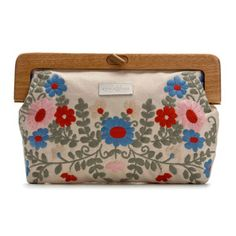 Embroidered Coloured Clutch, 62€, now featured on Fab.