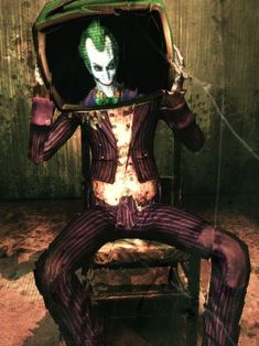 The Joker - Arkham Asylum