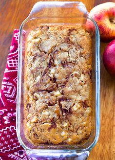Apple Fritter Recipes, Apple Recipes Easy, Apple Dessert Recipes, Homemade Apple Pies, Easy Bread Recipes, Homemade Recipe, Bread Pudding Recipes, Brunch Recipes, Cooking Apple Recipes