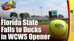 Florida State Falls to Oregon Ducks in WCWS Opener  Read the article: http://fastpitch.tv/florida-state-falls-oregon-ducks-wcws-opener  Please visit my website http://SoftballJunk.com/  Take a look at my Fastpitch Softball books for the Kindle http://fastpitch.tv/fastpitch-tv-publishing   Subscribe to the newsletter http://fastpitch.tv/newsletter