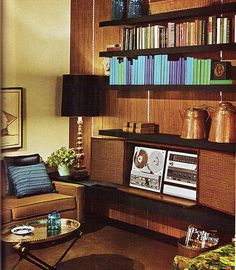 Some great images of 1950's and 1960's interior design. I think its safe to say that the light and color of these images are probably making it look much better than it may look in person. Regardle...