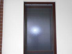 Zanzariera plissettata per finestra sottile sicura e senza molla ...