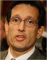 New Poll Shows Virginians Overwhelmingly Reject Republican Eric Cantor's Political Gamesmanship.    Just 27% of Virginia voters hold a favorable opinion of him.
