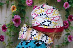 wykrój czapka mamahoch