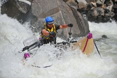 Catarafting North Fork of the Payette River in Idaho, photos by Mike Reid, Idaho Whitewater. - alloutdoor Some serious whitewater. #mikereid #cataractoars #whitewater #compositeoars #carbonfiberoars #americanoars #madeintheusa #slc #extremeoars #paddling #rowing #whitewateroars #filamentwound #oarsome #northforkpayette #river #rafting #cataraft #compositeoars www.cataractoars.com