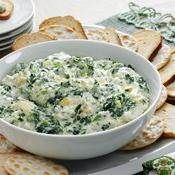 spinach and articoke dip with beer