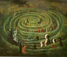 Leonora Carrington obras surrealistas - El laberinto