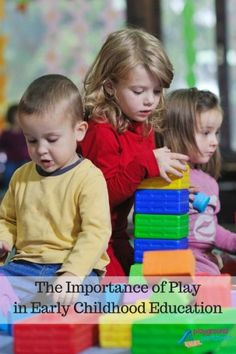 the importance of teachers in the development of children The importance of imagination  according to current child development theory and research children today desperately need time and space to  teachers.
