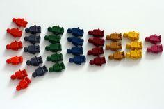 Lego Crayon Party Favors