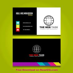 8 best business card template free downloads psd fils images on colorful business card templates free psd accmission Images