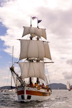 """""""Roy Nelson"""" at Hobart Tall Ships Festival"""