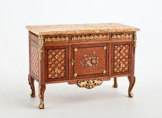 Good Sam Showcase of Miniatures: From Spain: Fine Furniture by Cristina Noriega
