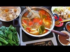 ▶ Tom Yum HOT POT - Lau Thai - YouTube