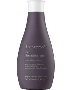 Curl Detangling Rinse is NOT a conditioner. It is a unique water-activated, gel-like formula that detangles hair when it hits water, prepping hair for frizz-fre