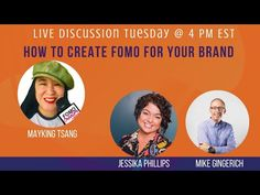 How to create FOMO for your brand with Jessika Phillips + Mike Gingerich The Creator, Create