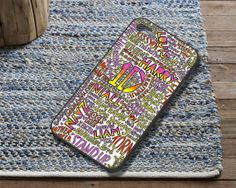 One Direction 1D Lyrics Case fit for iPhone 4/4S iPhone 5/5S/5C Samsung Galaxy S3/S4