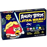 Angry Birds Star Wars Fruit Gummies - Luke Skywalker - 1 box
