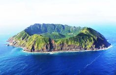 The Beauty of the Aogashima island in the Volcanic Caldera - World ...