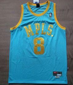 Blue Kobe Bryant  8 MPLS Classic Jersey Blue Kobe Bryant  8 MPLS Classic  Jersey 2c8394cdc