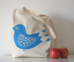 Blue Bird Tote Bag £10.00