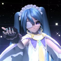 Vocaloid, Kaito, Rolling Girl, Hatsune Miku Project Diva, Virtual Girl, Kiss Art, Pose Reference Photo, Cartoon Games, Kawaii Anime Girl